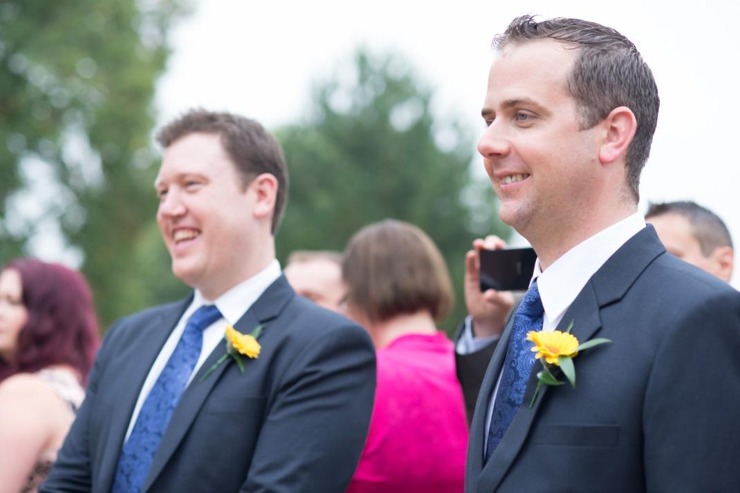 groomsmen, happy, candid