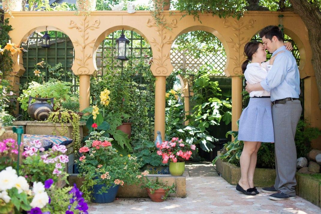 The Norfolk Terrace Garden, National Garden Scheme,  Cambridge, Moroccan, botanical gardens,