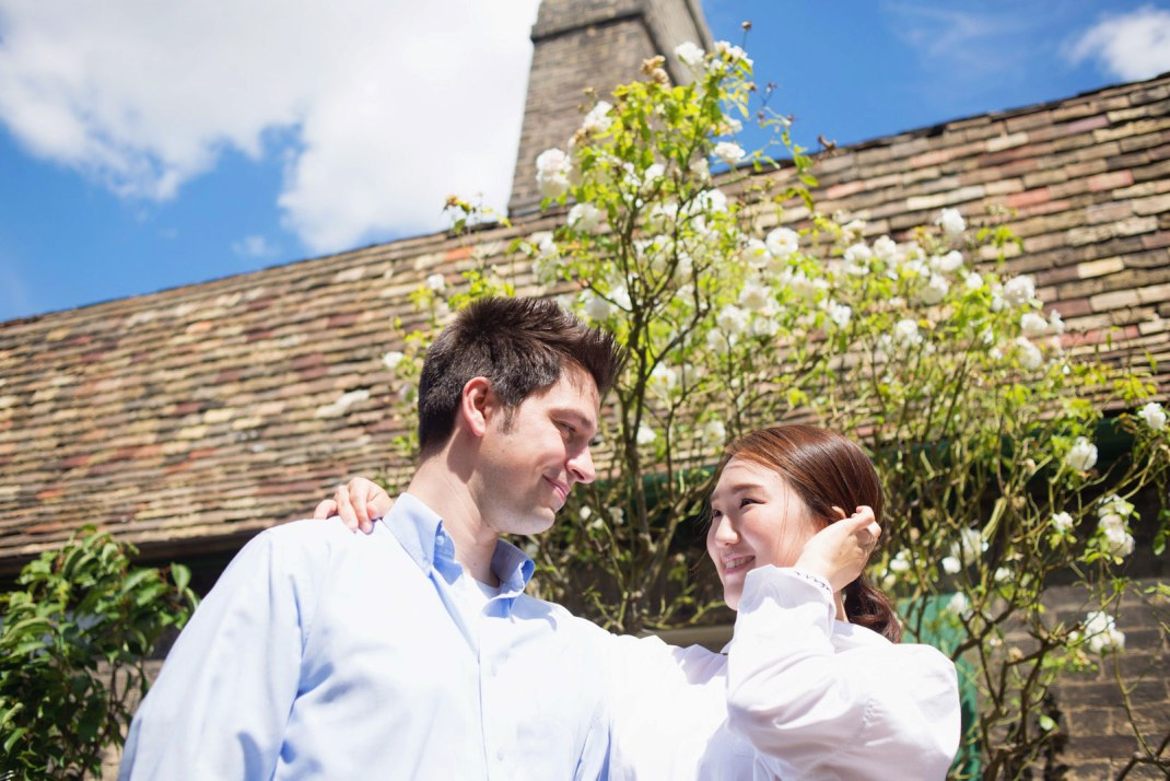 Cambridge, engagement, she said yes,