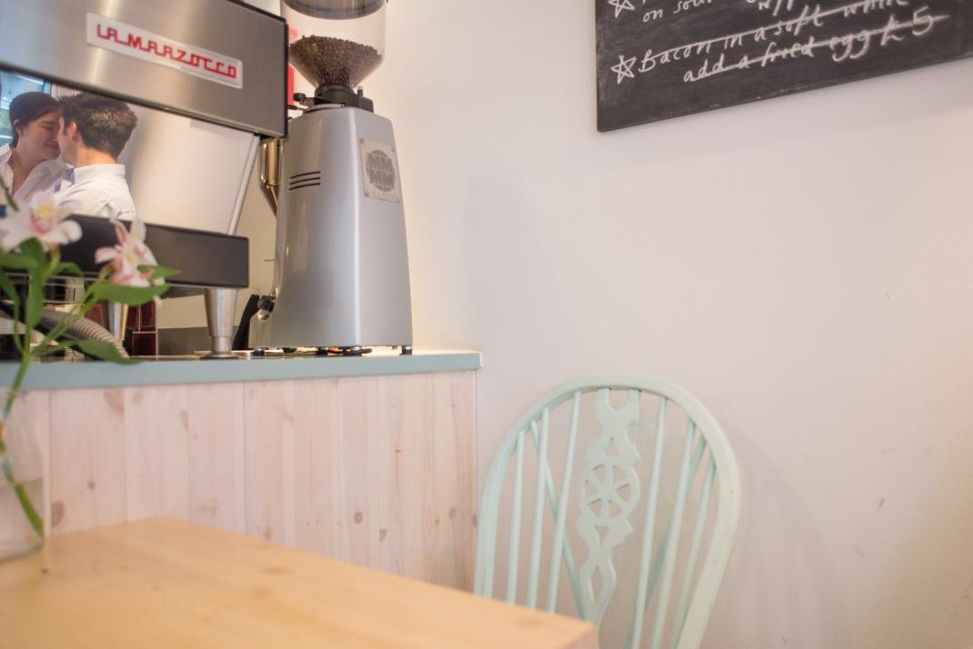 cafe, reflection