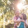 love, sunset, Summer, The Grange, engagement