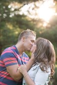 kiss, love, sunset, Summer, The Grange, engagement