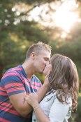 kiss, love, sunset, Summer, The Grange, engagement