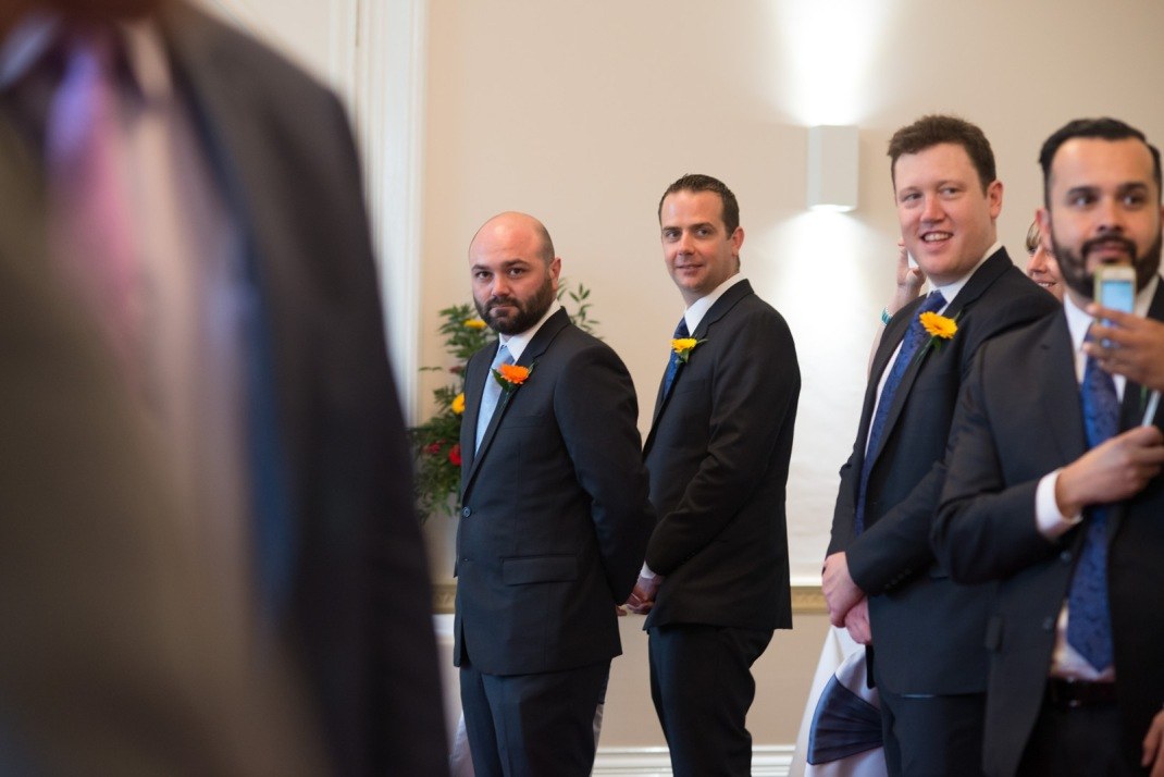 groom, wedding ceremony, Winchester Wedding Photography