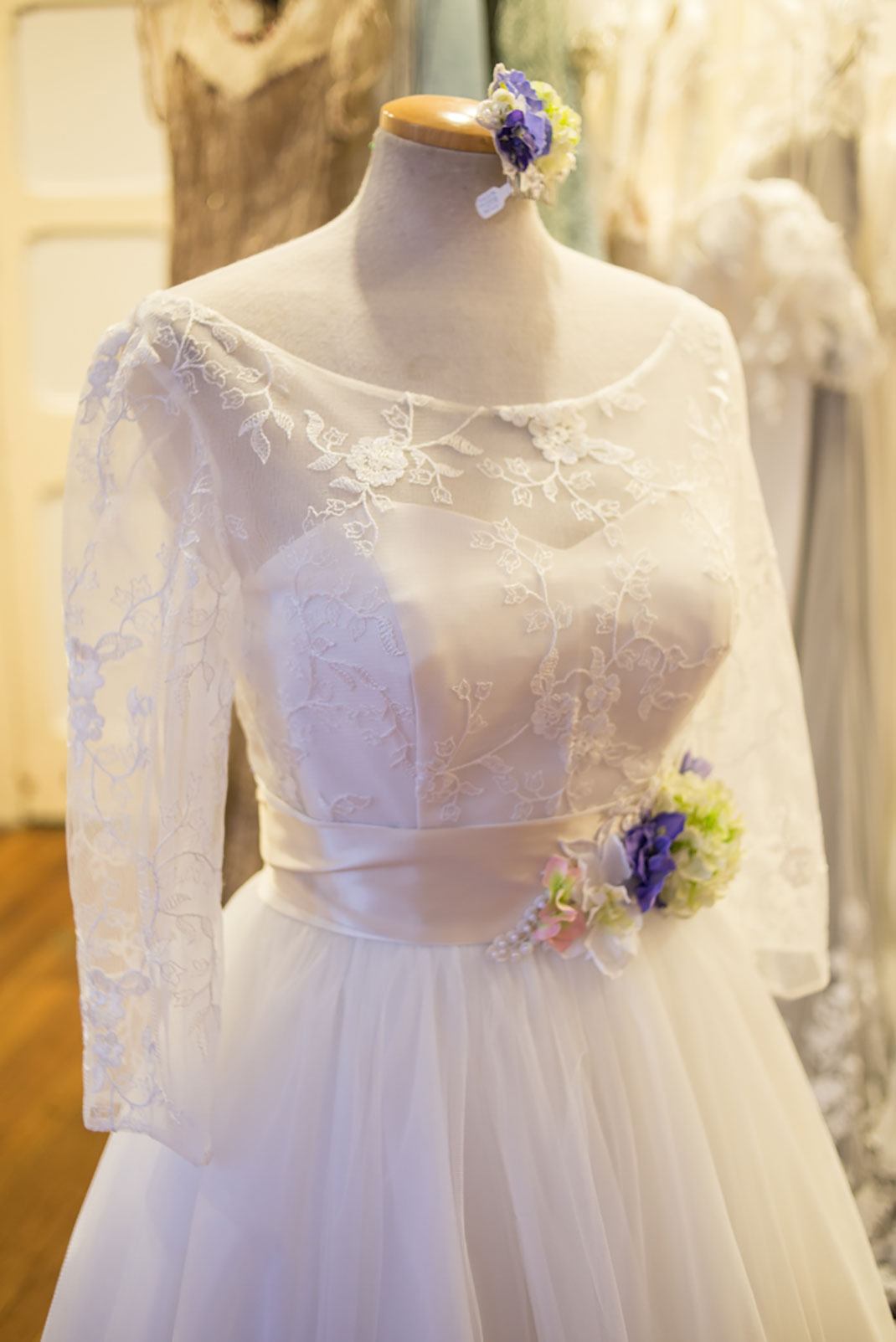 bridal, wedding dress