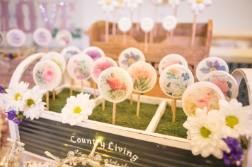 vintage, floral, pretty, daisies, pastels, wedding