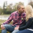 kiss, Virginia Water, Saville Gardens, Wedding Photographer Surrey