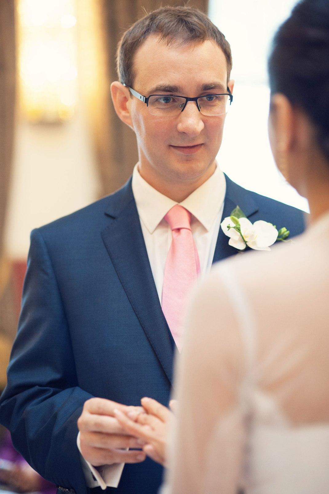 ceremony, groom, Browns, Convent Garden, London Wedding Photographer,  London eye, Whitehall Gardens
