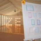 Tableplan, DIY, Harry Potter theme, Light up letters, bright, wedding,
