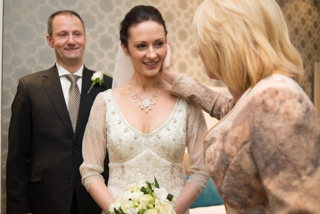 family, bride