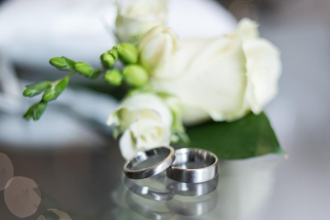 rings, macro, flowers,