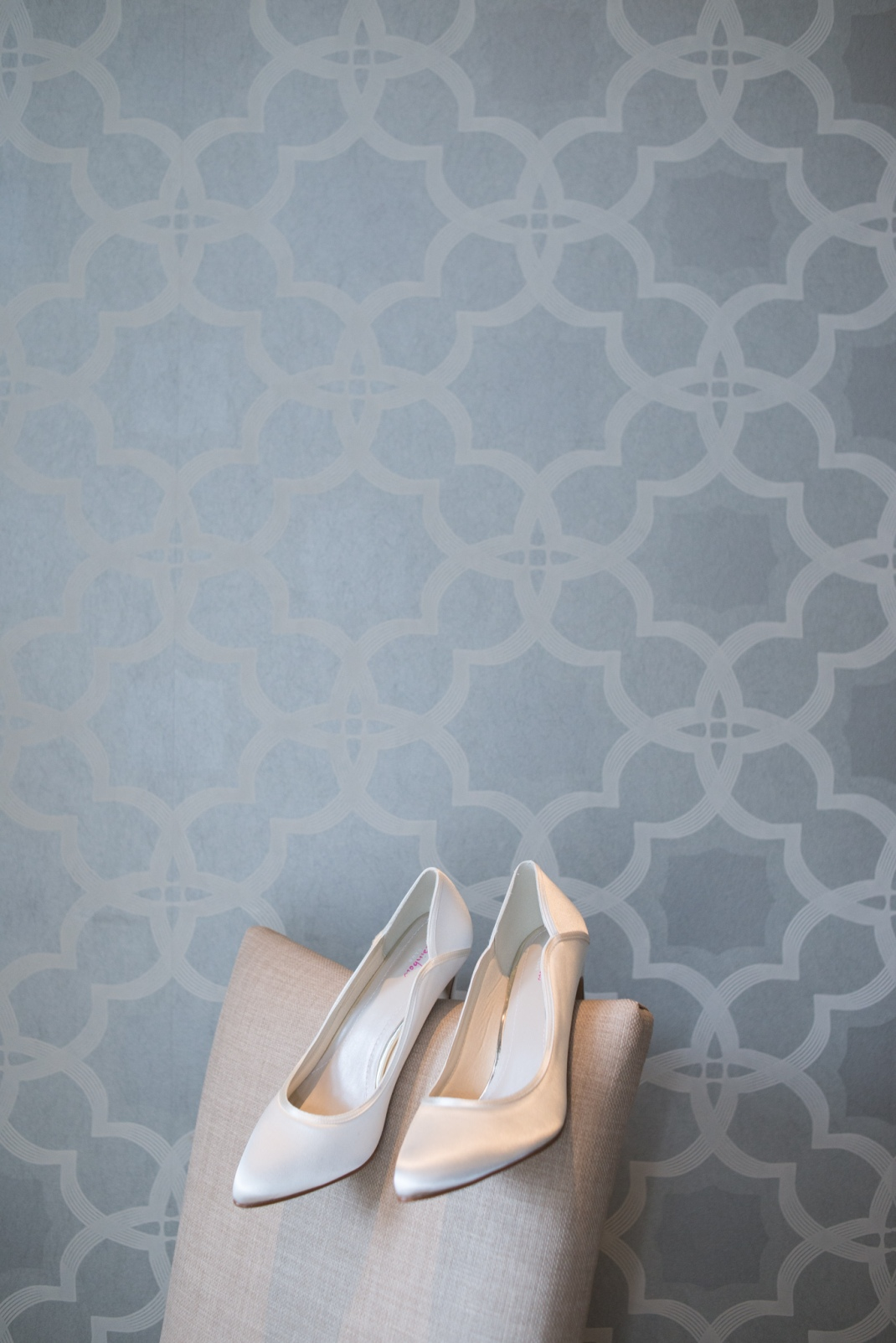 shoes, wedding, blue wallpaper, patterned, white shoes,